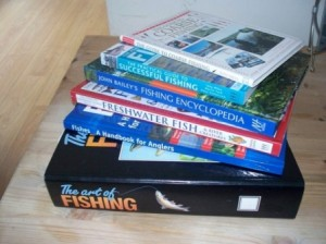 A selection of Fishing Books